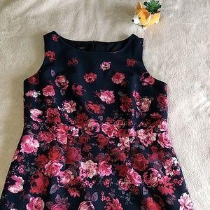 Talbots   Flowered sheath dress NWT